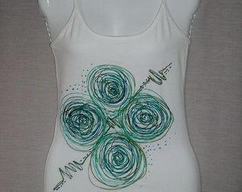 Handmade Painted Tops by Eros Design