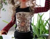 Sick Nurse - Iplehouse doll KID sized long sleeved goth punk tee shirt