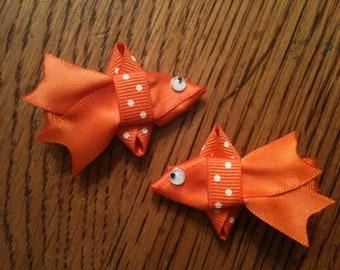 Goldfish Hair Clips