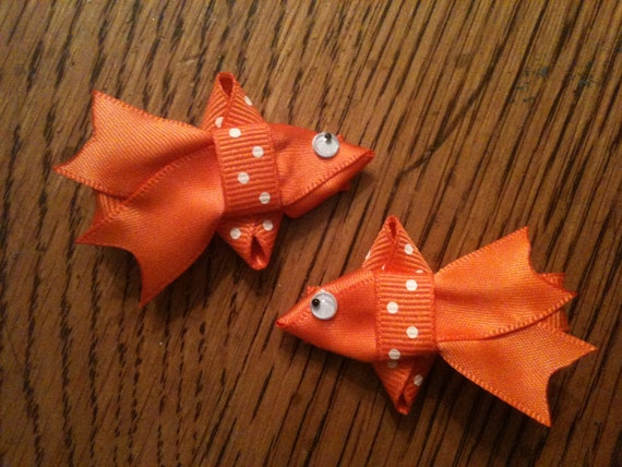 Goldfish Hair Clips