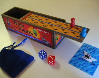 Kids just love this simple Walk the Plank dice game