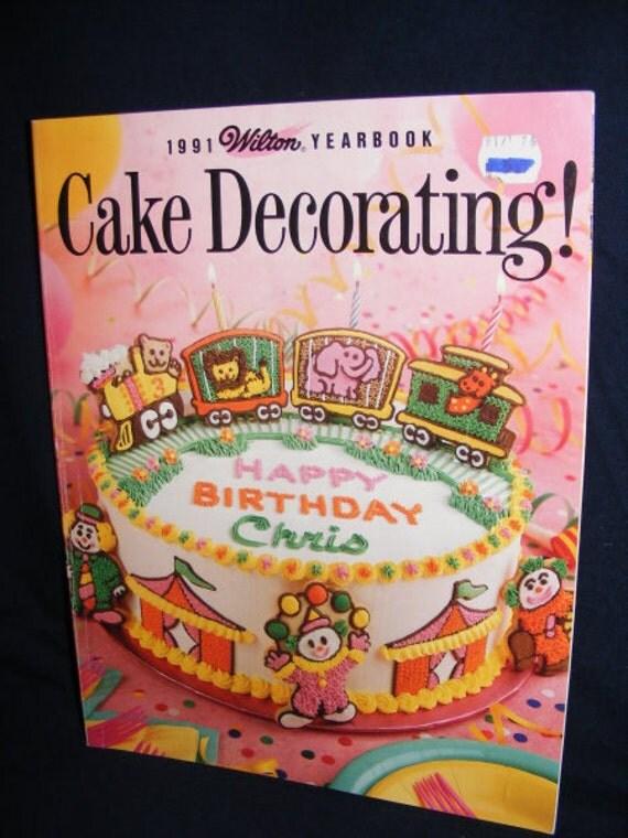 Xmas Cake Decorating Books : Vintage Wilton Yearbook 1991 Cake Decorating by ...