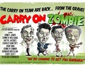 """Carry On Zombie - 16.5"""" x 11.75"""" (420mm x 297mm) A3 signed poster"""