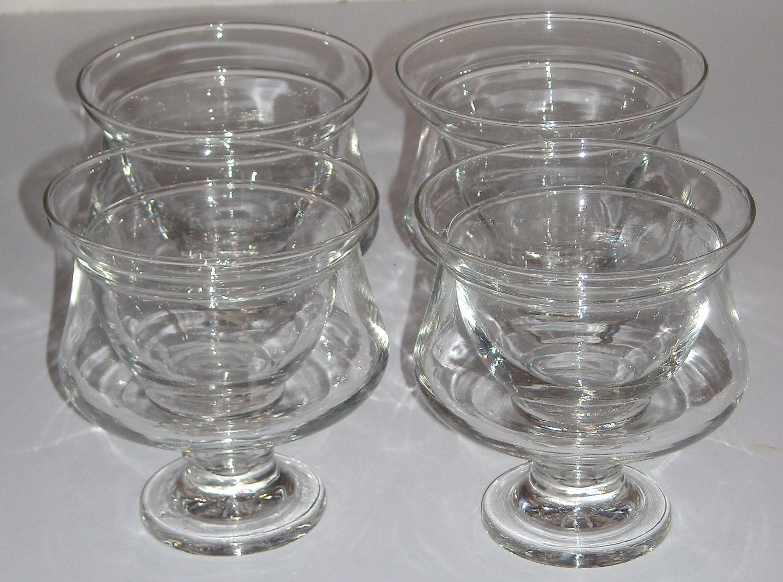 set 4 shrimp cocktail dessert glass chiller dish with ice. Black Bedroom Furniture Sets. Home Design Ideas