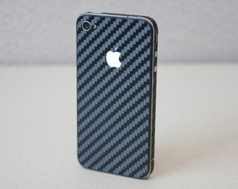Carbon Fiber Iphone skin for  4 - 4s - 5 - 5s