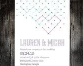 Love Connection Printable Invitation Set