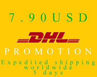 DHL EXPRESS PROMOTION Worldwide Shipping for orders above 14 items in 1 order