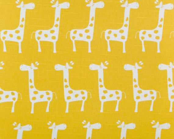 Sale nursery fabric premier prints stretch corn yellow white for Nursery print fabric