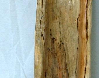 Wood Bowl -- Organic Sculpted Bowl: Right Thumb