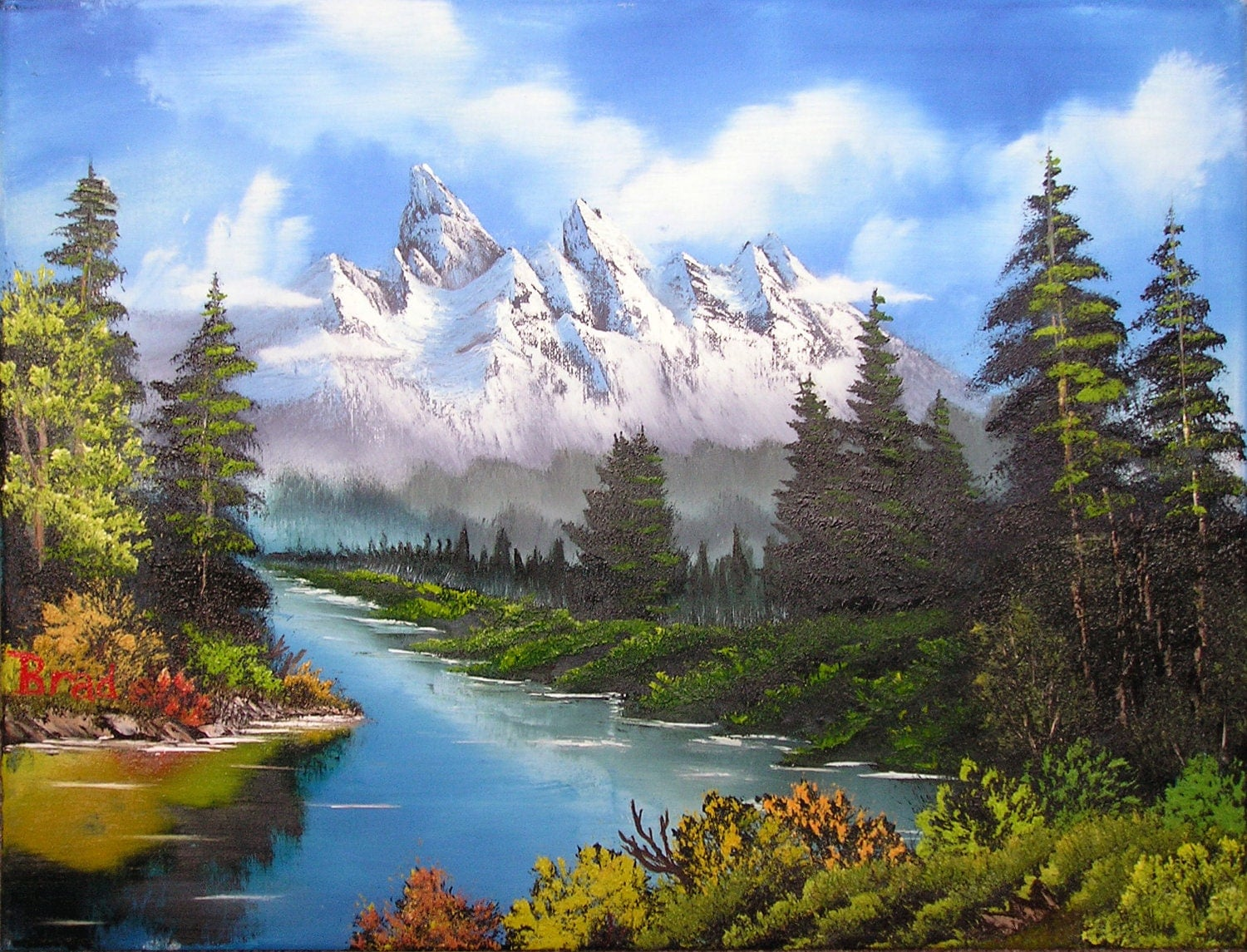 the bob ross painting method essay Sign up with facebook, twitter or google your otherpaperscom data will be completely private, secure and will not be posted to your facebook wall or tweeted.