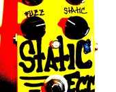 STATIC EGG: A raw protein transistor fuzz with loads of bottom end and sizzling treble. (links to audio clips)