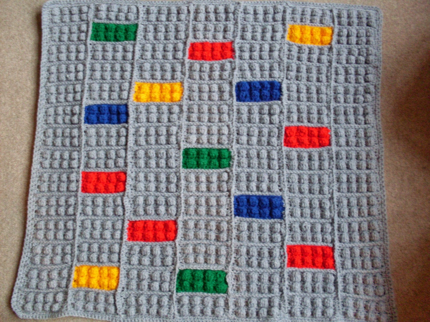 Crochet Lego Blanket : Unavailable Listing on Etsy