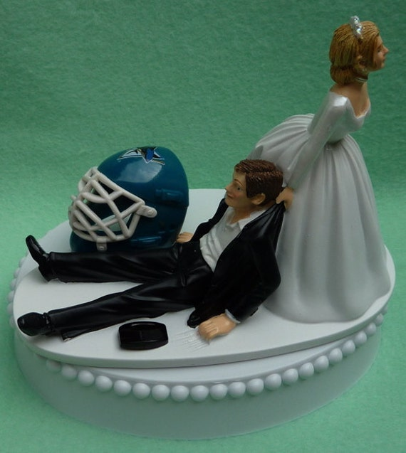 wedding cake san jose wedding cake topper san jose sharks sj hockey themed w bridal 23803