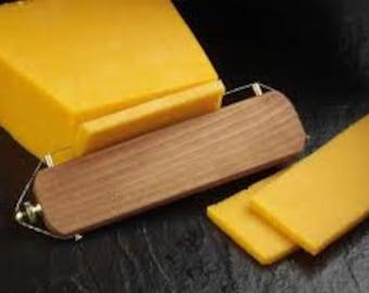 Wooden Straight Wire Cheese Slicer