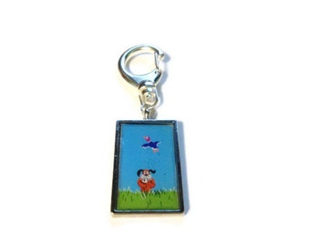 Duck Hunt Keychain