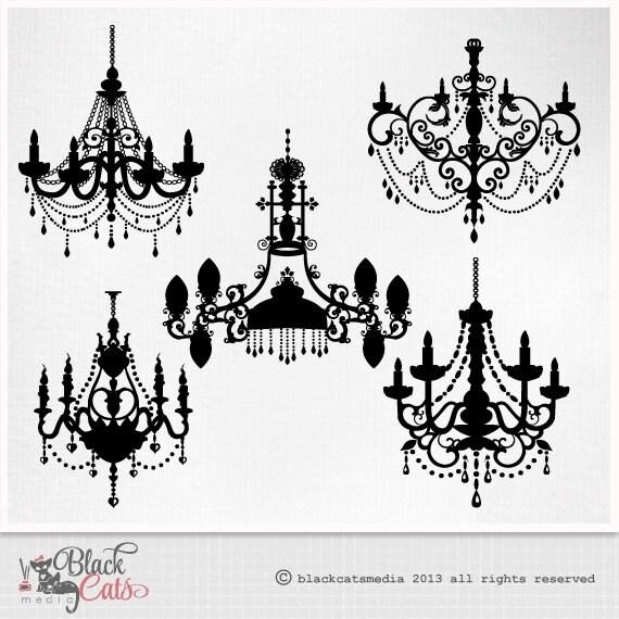 kronleuchter clipart barock ornamentale dekorative clip art. Black Bedroom Furniture Sets. Home Design Ideas