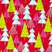 SALE Hip Holiday Forest Red by Josephine Kimberling from Blend Fabrics