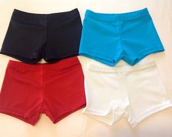 Basic booty shorts for dance / gymnastics