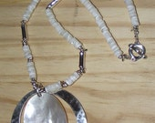 RLM Studio Sterling Silver and Shell Pendant Necklace