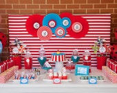 Complete Printable Collection for a Big Top Circus Birthday Party / Circus Party
