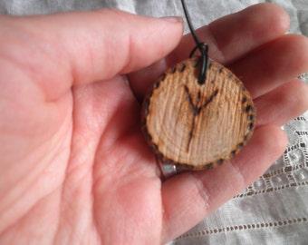 Algir Algiz Rune Necklace