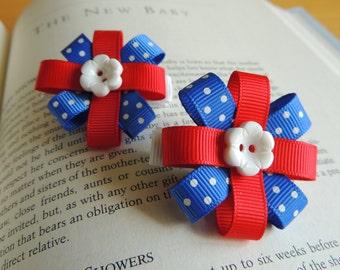 adorable set of patriotic clippies