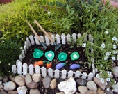 Fairy Garden Kit, Vegetable Garden Kit, Fairy Garden Set for Fairy Garden, Miniature Garden