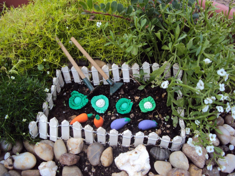 Fairy Garden Kit Vegetable Garden Kit Fairy by HelloLittleCloud