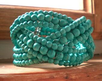 Turquoise bracelet // turquoise // bracelet