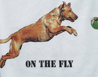 SPECIAL ORDER ~~~~Yellow Labrador Flyball T