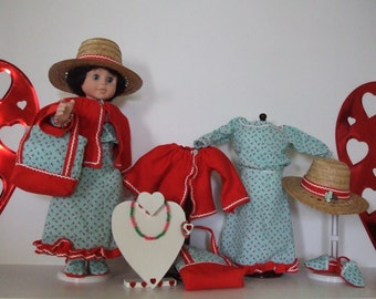 Peasant style for dolls 18 inches