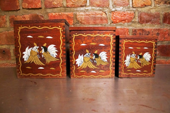Kitchen Canisters w  Fighting Rooster Design  3-Piece SetFighting Rooster Design