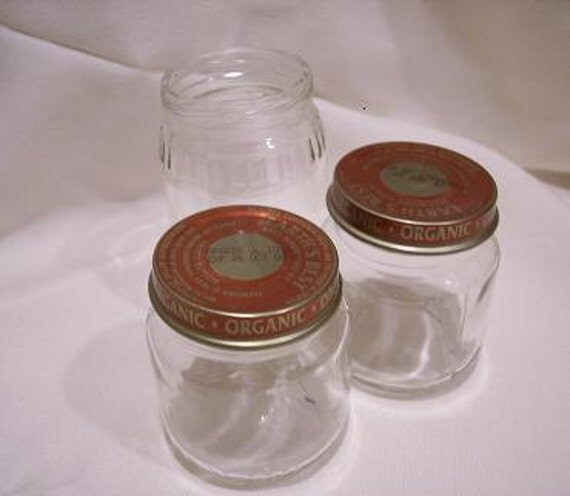 Empty Baby Food Jars Lot of 20 4oz. Empty B...