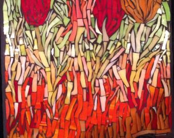 Flower Field Mosaic