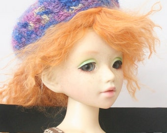 Crocheted BJD Hat for Unoa or Similar Head Size