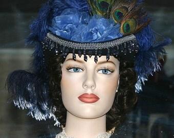 Steampunk Hat Sidesaddle Hat Victorian Hat SASS Hat - Spirit of Bloomfield - Women's Western Hat