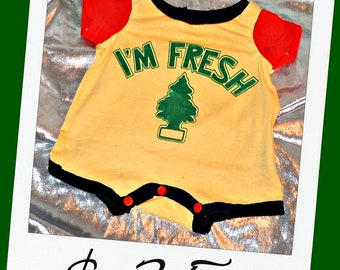 SALE I'm Fricka Fricka Fresh One Piece Body Suit Size 3/6 Months