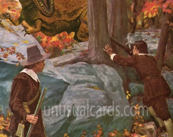 "Plight of the Pilgrims 11"" x 14"" print"