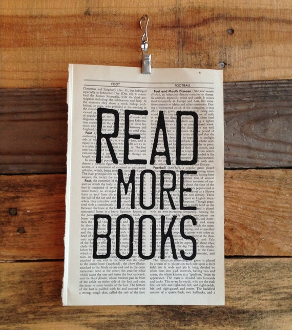 Read More Books Book Page Print