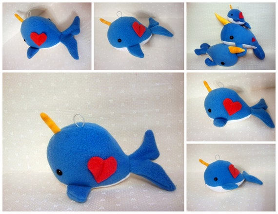 Narwhal - Hanging Decor -ornament