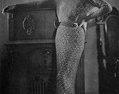 Vintage 1930s Crochet Dress Pattern - Columbia Elizabeth Ann Dress - PDF eBook