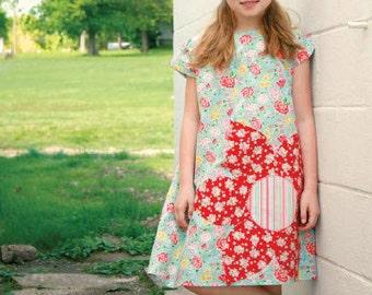 rosa lea dress pattern by marie-madeline studio (M081)