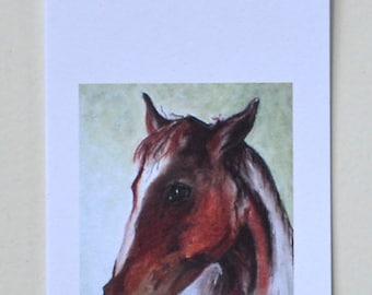 Bay Horse Art Gift Tags By Cori Solomon