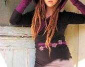Nomadic Ballerina Hooded pullover Organic cotton