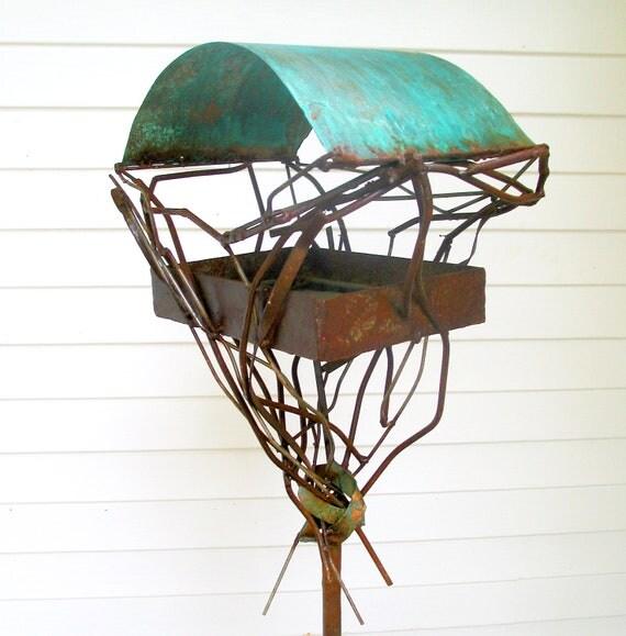 Sculptural Bird Feeder 264