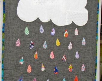Lovely rain quilt