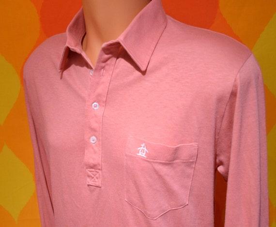 Vintage 70s polo golf shirt penguin grand slam munsingwear for Golf shirt with penguin logo