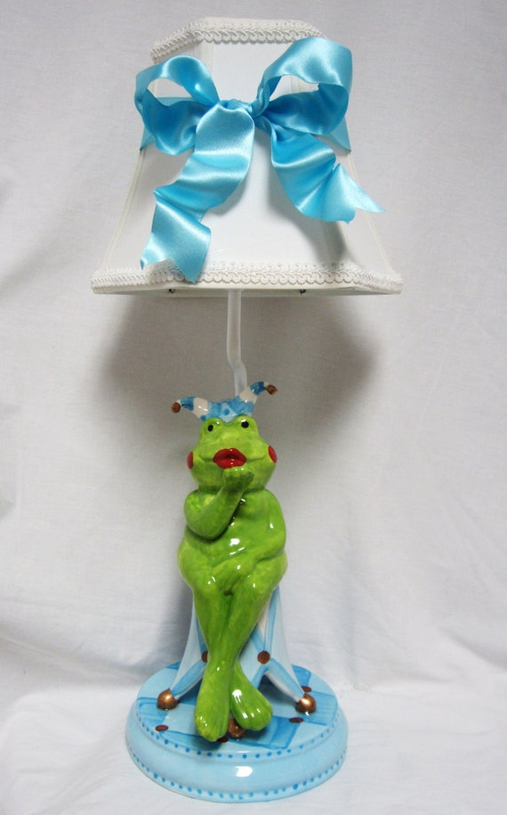 Frog Jester Lamp