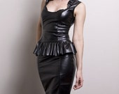Faux Leather Bustier/Top-Made to Order (Leather or PVC)