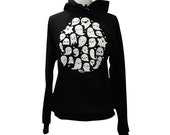 GHOST Hoodie - Kawaii Ghosts Unisex Sweatshirt - (Sizes S, M, L, XL)